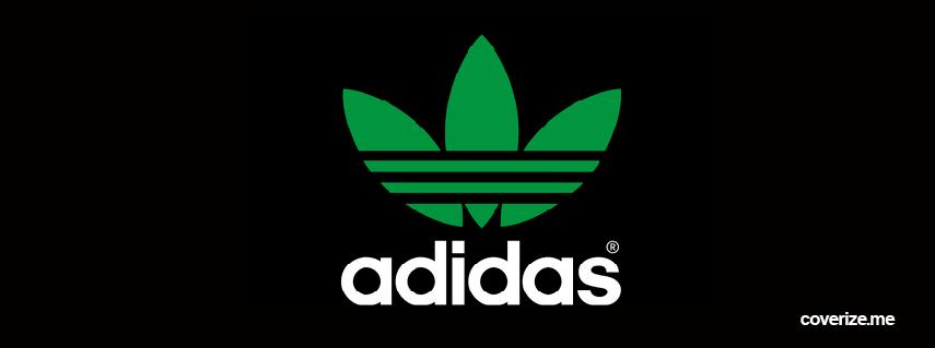 Soberano maratón Pascua de Resurrección  Adidas Green Facebook Cover | coverize.me | FREE Facebook Covers!